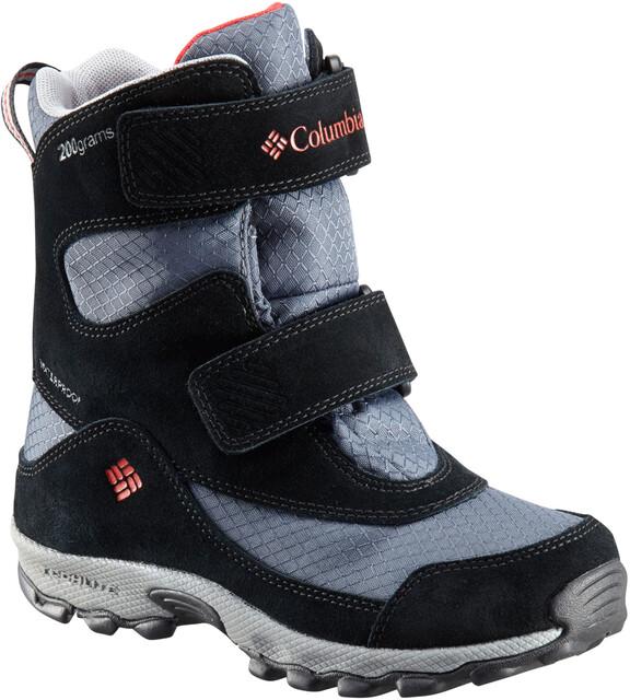 Boots Kids Graphitebright Peak Red Columbia Parkers SpjqGMLzUV